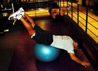 The Surfer's BSB Bungee SwissBall Workout